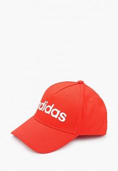 Бейсболка, adidas, цвет: красный. Артикул: AD002CUJMZN0. Аксессуары / Головные уборы