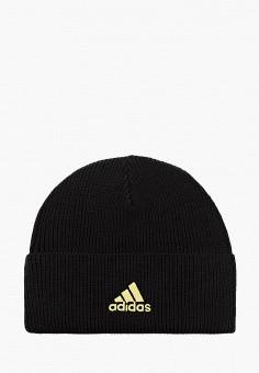 Шапка, adidas, цвет: черный. Артикул: AD002CUJNAI9. Аксессуары / Головные уборы / Шапки