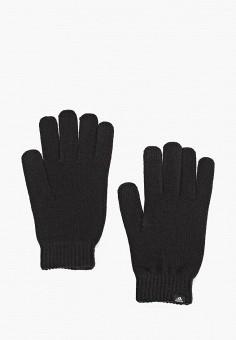 Перчатки, adidas, цвет: черный. Артикул: AD002DUCDDN6. Аксессуары / Перчатки и варежки