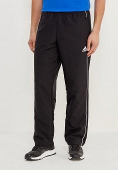 Брюки спортивные, adidas, цвет: черный. Артикул: AD002EMAMAU1. Одежда / Брюки / Спортивные брюки