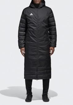 Пуховик, adidas, цвет: черный. Артикул: AD002EMAMBE6. Одежда / Верхняя одежда / Пуховики и зимние куртки / Пуховики