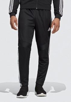 Брюки спортивные, adidas, цвет: черный. Артикул: AD002EMEEHK9. Одежда / Брюки