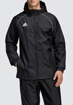 Ветровка, adidas, цвет: черный. Артикул: AD002EMEEHO7. Одежда / Верхняя одежда / Легкие куртки и ветровки