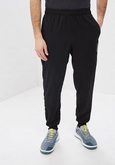 Брюки спортивные, adidas, цвет: черный. Артикул: AD002EMEGRM3. Одежда / Брюки / Спортивные брюки