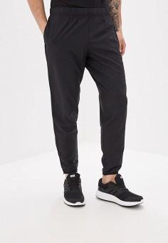 Брюки спортивные, adidas, цвет: черный. Артикул: AD002EMFJYF0. Одежда / Брюки / Спортивные брюки