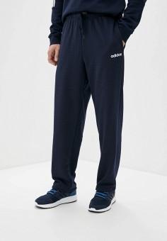 Брюки спортивные, adidas, цвет: синий. Артикул: AD002EMFJYF2. Одежда / Брюки / Спортивные брюки
