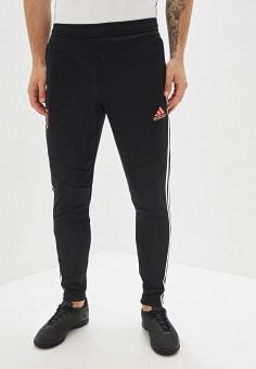 Брюки спортивные, adidas, цвет: черный. Артикул: AD002EMFJYG7. Одежда / Брюки / Спортивные брюки
