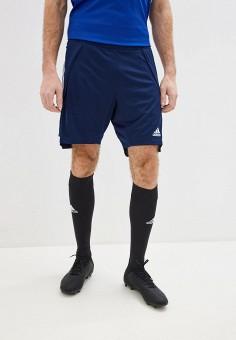 Шорты спортивные, adidas, цвет: синий. Артикул: AD002EMHLLO9. Одежда / Шорты
