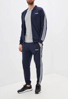 Костюм спортивный, adidas, цвет: синий. Артикул: AD002EMHLPD1. Одежда / Спортивные костюмы