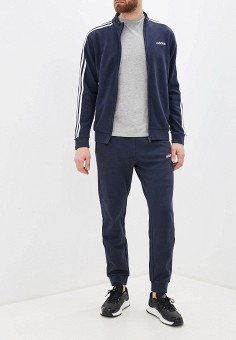 Костюм спортивный, adidas, цвет: синий. Артикул: AD002EMHLPD5. Одежда / Спортивные костюмы