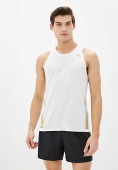 Майка спортивная, adidas, цвет: белый. Артикул: AD002EMHLPY6. Одежда / Майки