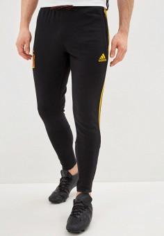 Брюки спортивные, adidas, цвет: черный. Артикул: AD002EMIIBI5. Одежда / Брюки / Спортивные брюки