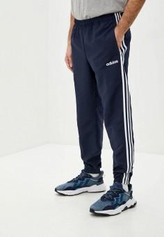 Брюки спортивные, adidas, цвет: синий. Артикул: AD002EMIYPI3. Одежда / Брюки / Спортивные брюки