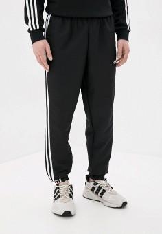 Брюки спортивные, adidas, цвет: черный. Артикул: AD002EMJMKR7. Одежда / Брюки