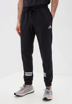 Брюки спортивные, adidas, цвет: черный. Артикул: AD002EMJMMX6. Одежда / Брюки / Спортивные брюки