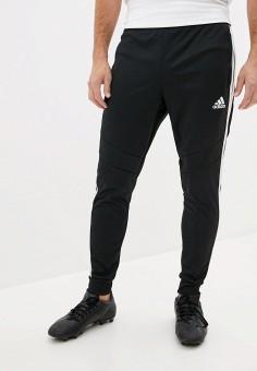 Брюки спортивные, adidas, цвет: черный. Артикул: AD002EMJMMY5. Одежда / Брюки / Спортивные брюки