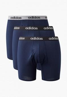 Комплект, adidas, цвет: синий. Артикул: AD002EMJMNC1. Одежда / Нижнее белье