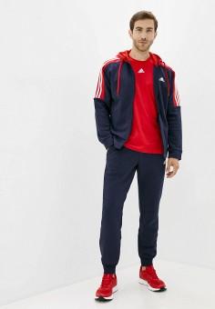 Костюм спортивный, adidas, цвет: синий. Артикул: AD002EMJMNC5. Одежда / Спортивные костюмы