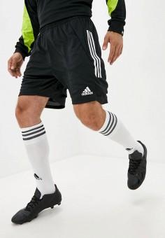 Шорты спортивные, adidas, цвет: черный. Артикул: AD002EMKDWK4. Одежда / Шорты