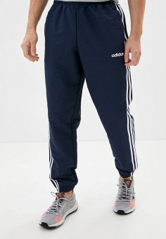 Брюки спортивные, adidas, цвет: синий. Артикул: AD002EMKLBJ7. Одежда / Брюки / Спортивные брюки