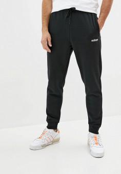 Брюки спортивные, adidas, цвет: черный. Артикул: AD002EMKLBJ8. Одежда / Брюки / Спортивные брюки