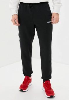 Брюки спортивные, adidas, цвет: черный. Артикул: AD002EMKLBJ9. Одежда / Брюки / Спортивные брюки
