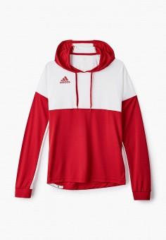 Худи, adidas, цвет: красный. Артикул: AD002EUJMRX7. Одежда / Толстовки и олимпийки / Худи