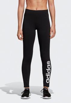 Леггинсы, adidas, цвет: черный. Артикул: AD002EWEGRO4. Одежда / Брюки / Леггинсы
