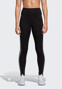 Тайтсы, adidas, цвет: черный. Артикул: AD002EWEGRO8. Спорт