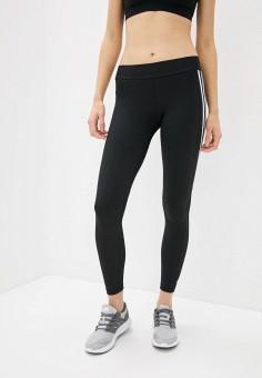 Тайтсы, adidas, цвет: черный. Артикул: AD002EWHLRR9. Одежда / Брюки