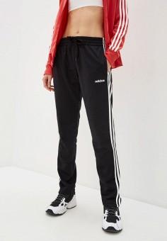 Брюки спортивные, adidas, цвет: черный. Артикул: AD002EWHLRW4. Одежда / Брюки