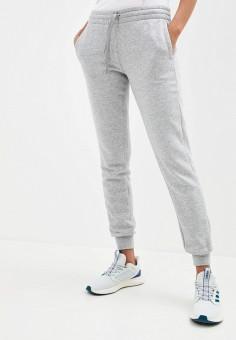 Брюки спортивные, adidas, цвет: серый. Артикул: AD002EWJMSE6. Одежда / Брюки
