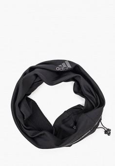 Снуд, adidas, цвет: черный. Артикул: AD002GUJNCD5. Аксессуары / Платки и шарфы