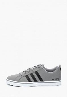 Кеды, adidas, цвет: серый. Артикул: AD003AMURA03.