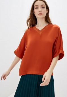 Блуза, adL, цвет: оранжевый. Артикул: AD005EWGTDE5.