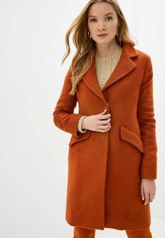Пальто, adL, цвет: коричневый. Артикул: AD005EWGTDP1.