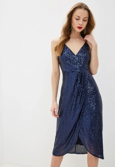Платье, adL, цвет: синий. Артикул: AD005EWHKLU3.