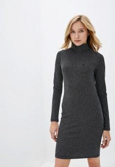 Платье, adL, цвет: серебряный. Артикул: AD005EWHKLV8.