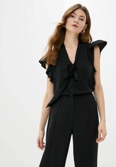 Блуза, adL, цвет: черный. Артикул: AD005EWIPVR4.
