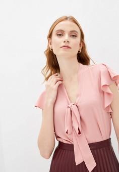 Блуза, adL, цвет: розовый. Артикул: AD005EWIPVR6.