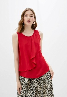 Блуза, adL, цвет: красный. Артикул: AD005EWIPVS0.