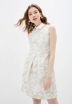 Платье, adL, цвет: бежевый. Артикул: AD005EWIPVT4.