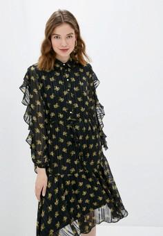 Платье, adL, цвет: черный. Артикул: AD005EWIPVT8.