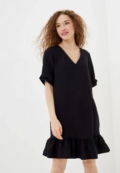 Платье, adL, цвет: черный. Артикул: AD005EWIPVU1.