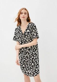 Платье, adL, цвет: черный. Артикул: AD005EWIPVU5.