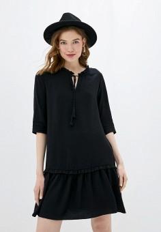 Платье, adL, цвет: черный. Артикул: AD005EWIPVU7.