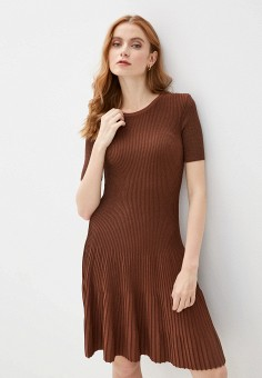 Платье, adL, цвет: коричневый. Артикул: AD005EWIPVV2.