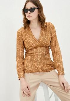 Блуза, adL, цвет: коричневый. Артикул: AD005EWJBKK5.