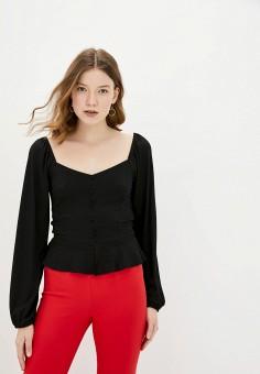 Блуза, adL, цвет: черный. Артикул: AD005EWJBKK9.