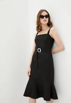 Платье, adL, цвет: черный. Артикул: AD005EWJBKL3.